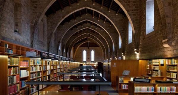 Sitios para hacer fotos en Barcelona - Biblioteca de Catalunya