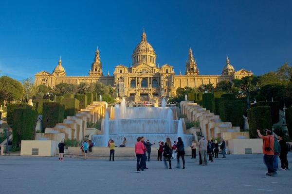 Sitios para hacer fotos en Barcelona - El MNAC