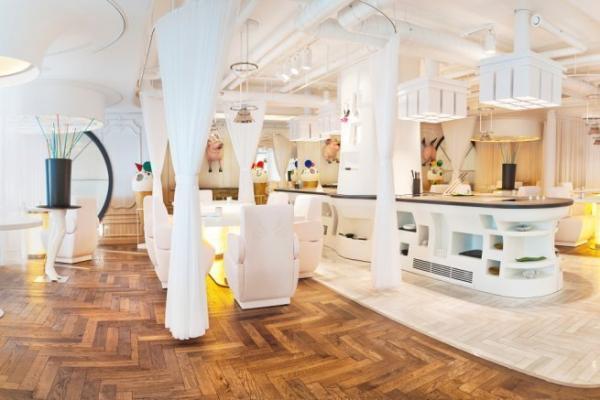 Los 5 restaurantes con más estrellas Michelín del mundo - DiverXo, cocina internacional en un espacio vanguardista