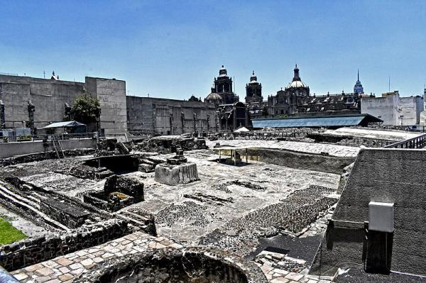 Qué hacer en la ciudad de México - 3. Visitar el Templo Mayor de México