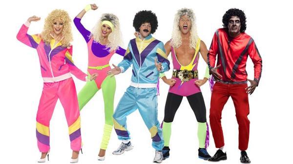 Ideas de decoración para fiestas de los años 80 - Disfraces de los 80 para una fiesta inolvidable