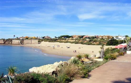 Dónde ver el mejor atardecer en Cádiz - La Playa de la Muralla, atardeceres en Cádiz impresionantes