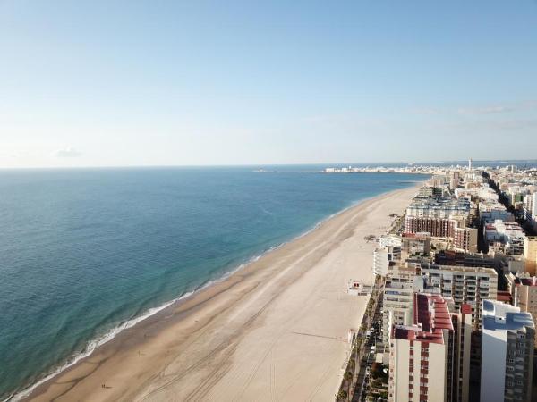 Dónde ver el mejor atardecer en Cádiz - Los bellos atardeceres de Playa Victoria, Cádiz